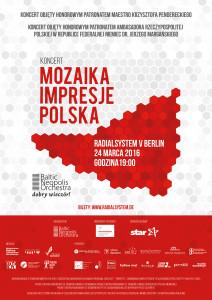 MozaikaImpresjePolska - Plakat A4